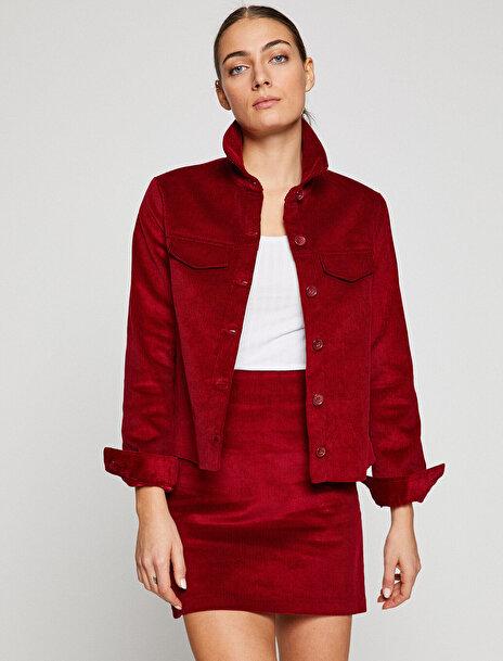 Koton Kadın Kadife Ceket