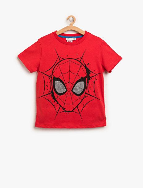 Erkek Çocuk Spiderman Baskili T-Shirt