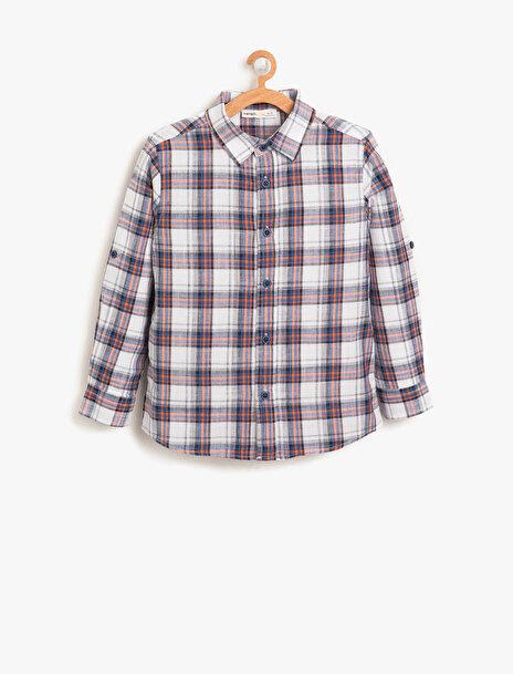 Erkek Çocuk Kareli Gömlek