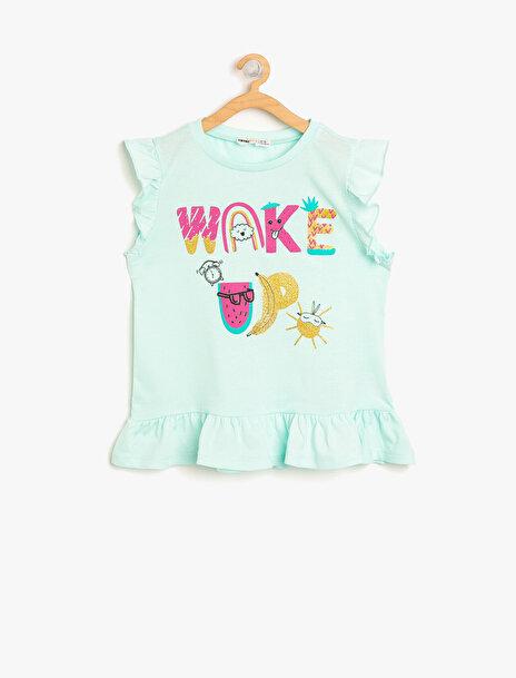 Kız Çocuk Baskili Pijama