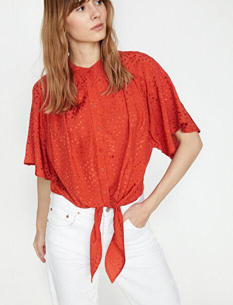 Kadın Desenli Gömlek
