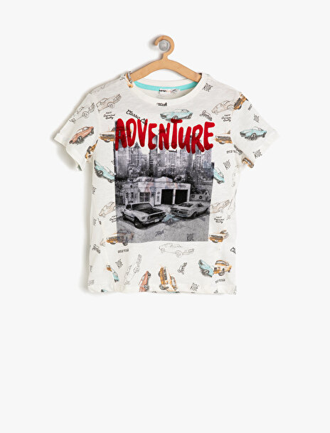 Erkek Çocuk Baskili T-Shirt