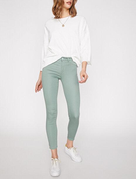 Kadın Normal Bel Pantolon