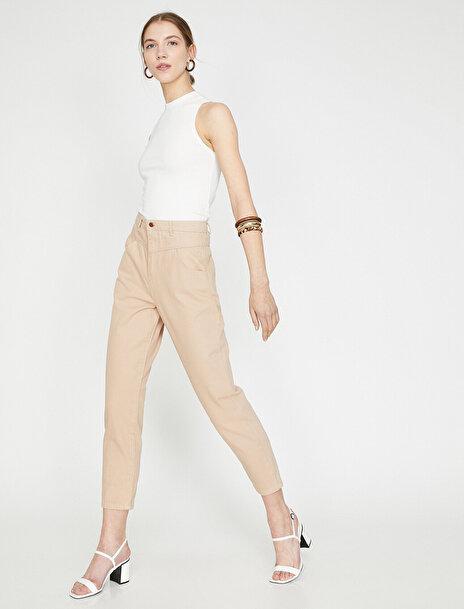 Kadın Yüksek Bel Pantolon