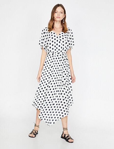 Kadın Puantiyeli Elbise