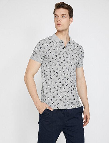 Erkek Desenli T-Shirt