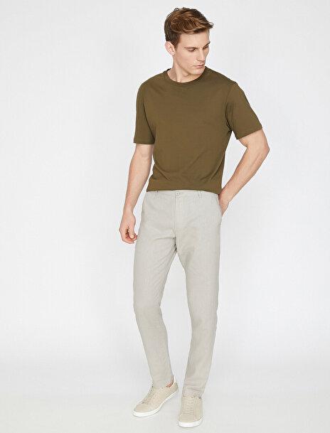 Erkek Cep Detayli Pantolon