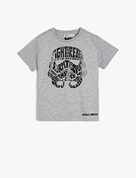 Erkek Çocuk Star Wars Baskili T-Shirt