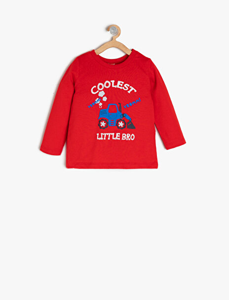 Erkek Çocuk Yazili Baskili T-Shirt