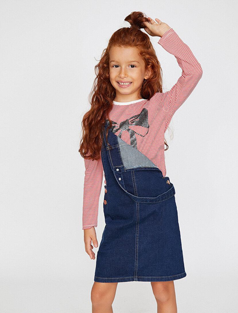 bc723c6516d1e Kız Çocuk Giyim, Aksesuar Modelleri ve Fiyatları   Koton Kız Çocuk