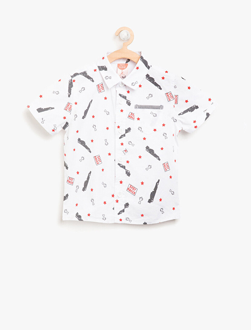 Baskılı Gömlek