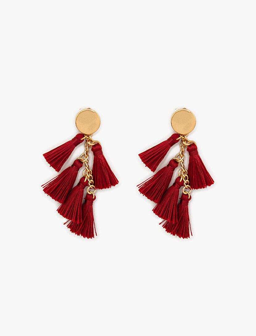 Tassel Detailed Earrings