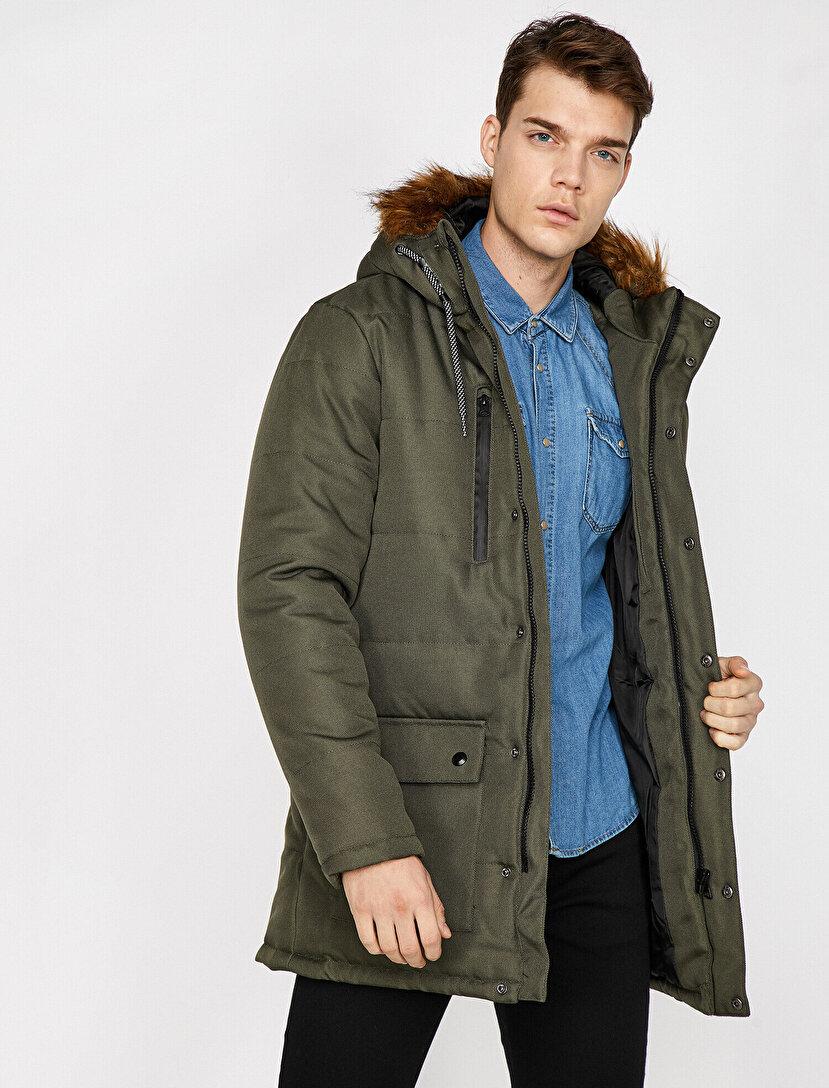 Erkek Uzun Kışlık Kaşe Kaban Modelleri Ve Fiyatları Koton