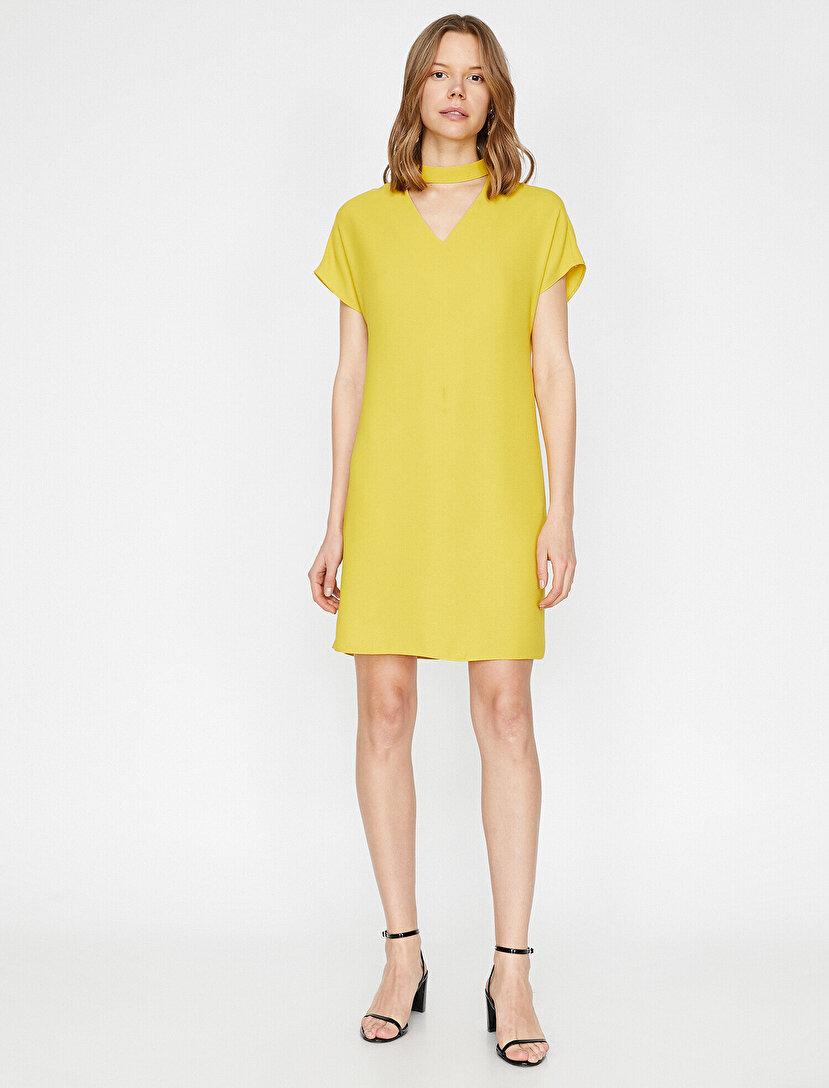 91935020cff90 The Summer Bright Dress - Canlı & Yaz Rengi Elbise