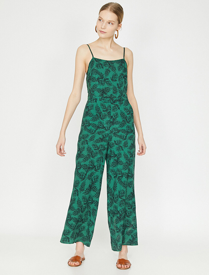 f0c59fa652 Patterned Jumpsuits. Patterned Jumpsuits Green