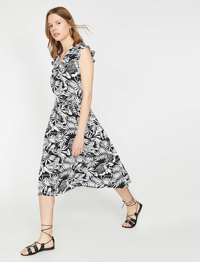 cd320b3e9058b The Floral Dress - Çiçek Desenli Elbise