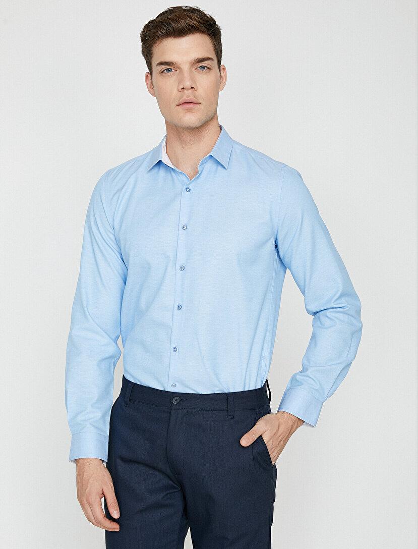 773f1017417c1 Erkek Gömlek Modelleri & Erkek Gömlek Fiyatları 2019   Koton