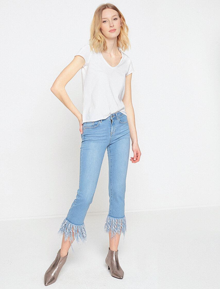 4f713b707b6c4 Fahriye Evcen Jeans Collection | Koton Jeans