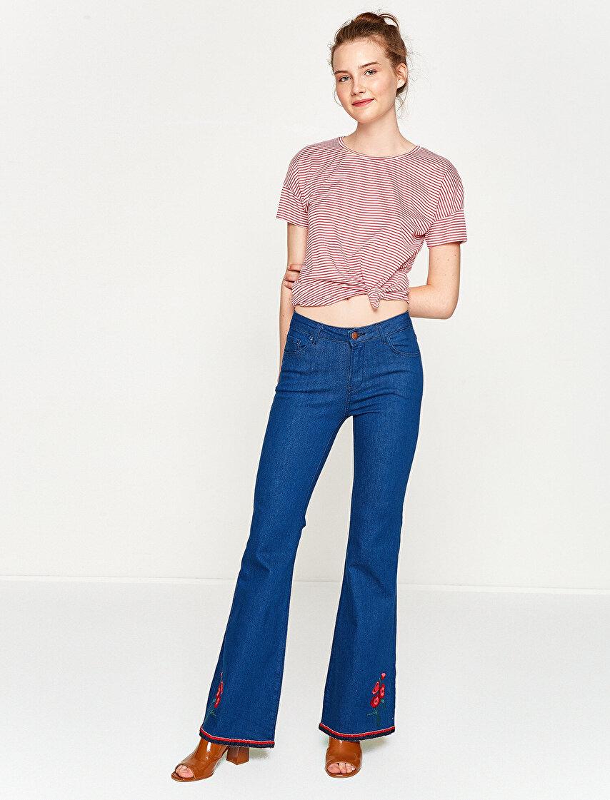 9dd26553f4cf7 Bayan Jean Pantolon Modelleri | Koton Jean Pantolon
