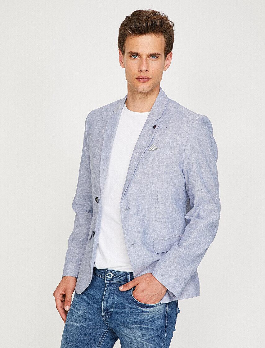 Klasik Yaka Blazer Ceket