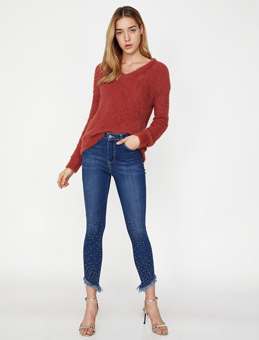 Bayan Jean Pantolon Modelleri Koton Jean Pantolon