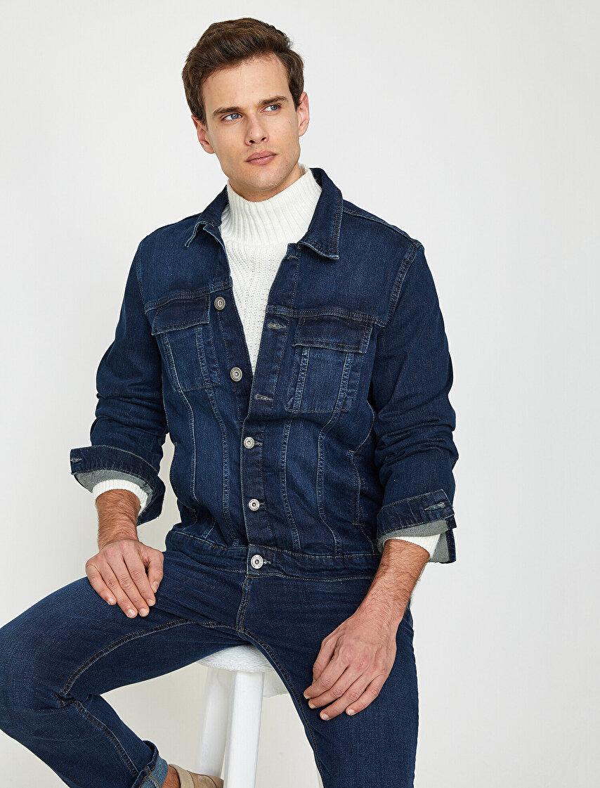 Erkek Jean Ceket Modelleri Ve Fiyatları Koton Jean Ceket