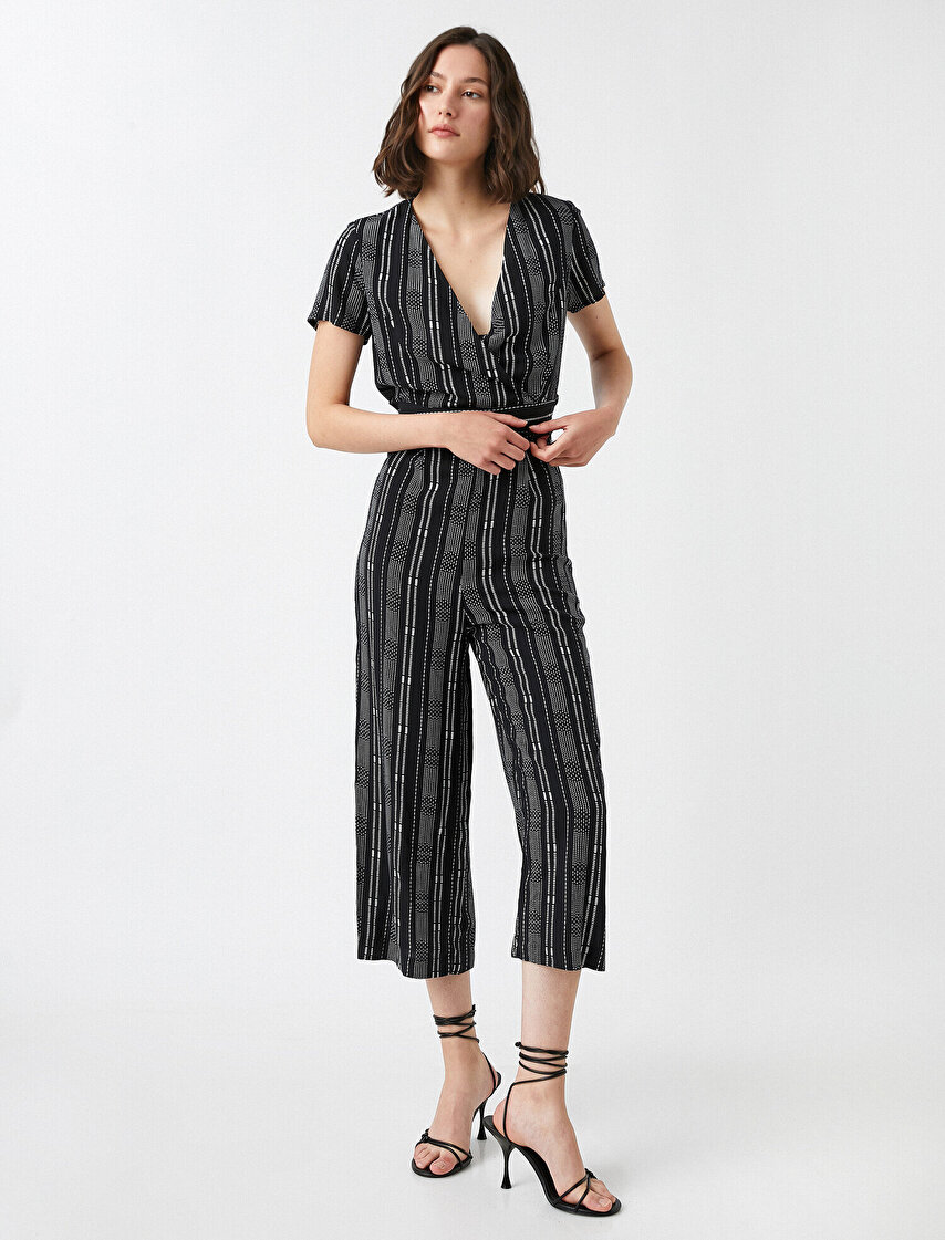 c688904ca4f3 Patterned Jumpsuits · Patterned Jumpsuits Black Striped