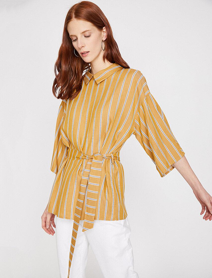 2367cda89ec72 Bayan Uzun Tunik, Tunik Gömlek Modelleri ve Fiyatları | Koton