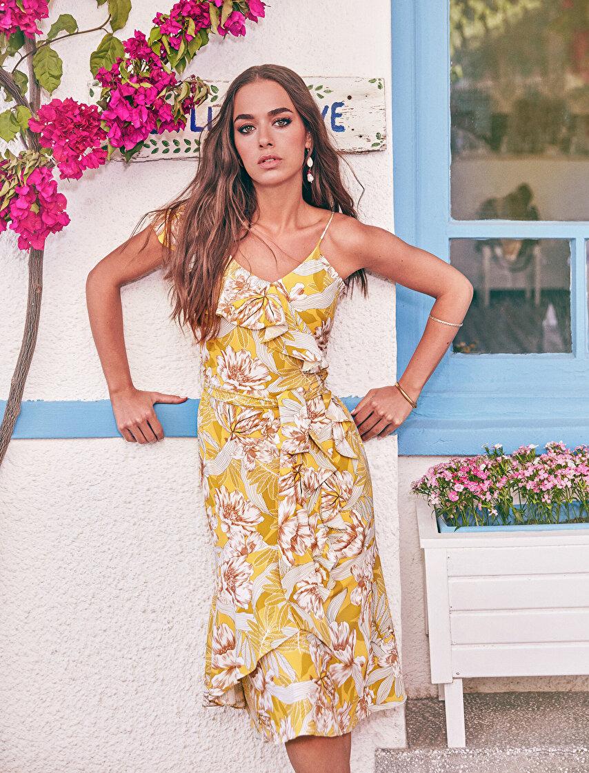 406d0cb3f63d6 The Floral Dress - Çiçek Desenli Elbise