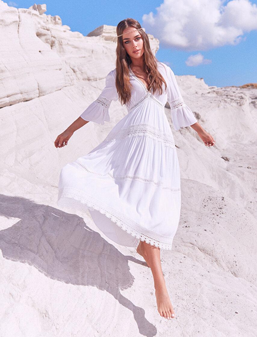 b022966937ed3 Bayan Elbise Modelleri, Çiçekli Elbise ve Elbise Fiyatları | Koton
