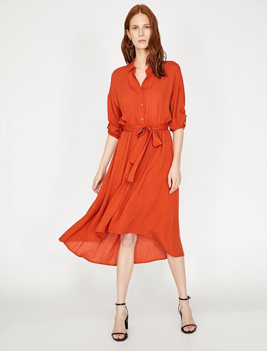 983ec5f3aeda4 Bayan Ofis Elbise Modelleri & Ofis Elbise Fiyatları | Koton