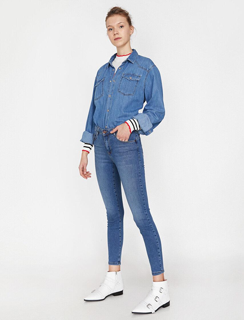 9d6fa646871ca Bayan Kate Jeans Modelleri | Koton Kate Jeans