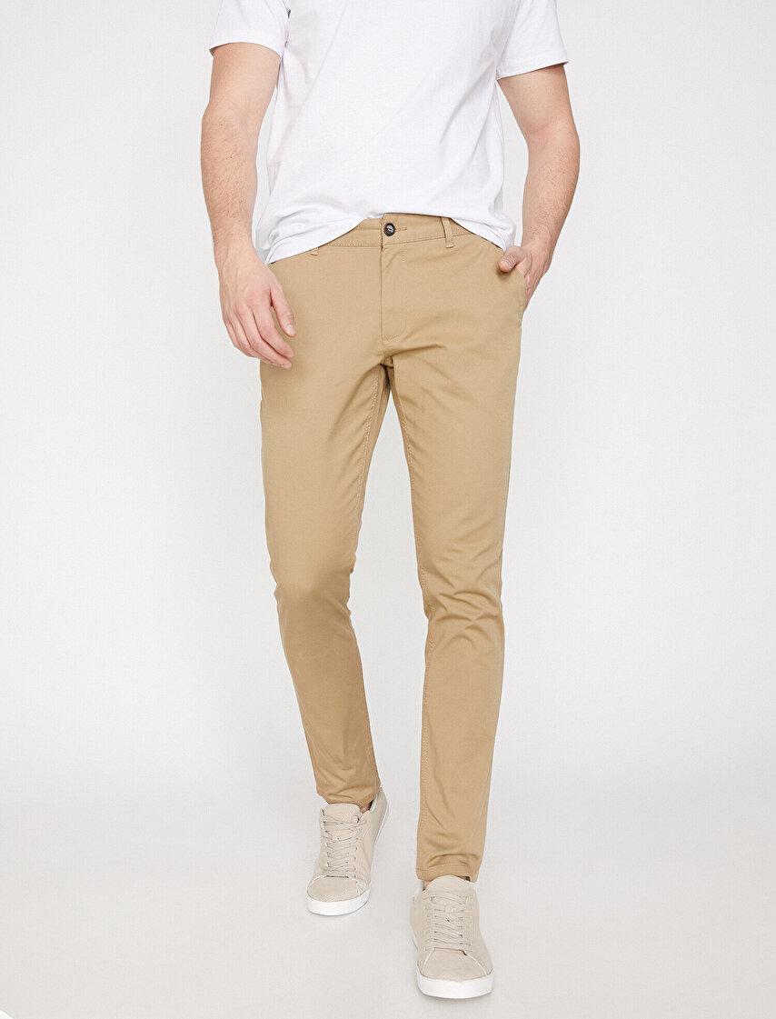 362e27c2fd1a5 Erkek Pantolon Modelleri & Kumaş Pantolon Fiyatları 2019 | Koton