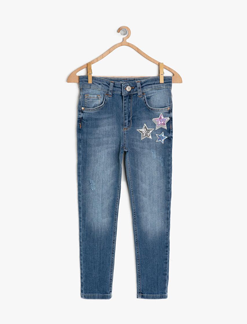 79fdbcc76ab30 Kız Çocuk Kot Pantolon Modelleri & Jean Pantolon Fiyatları | Koton