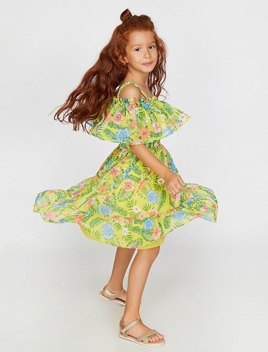 a21fb3a54aabf Kız Çocuk Elbise Modelleri & Kız Çocuk Elbise Fiyatları | Koton