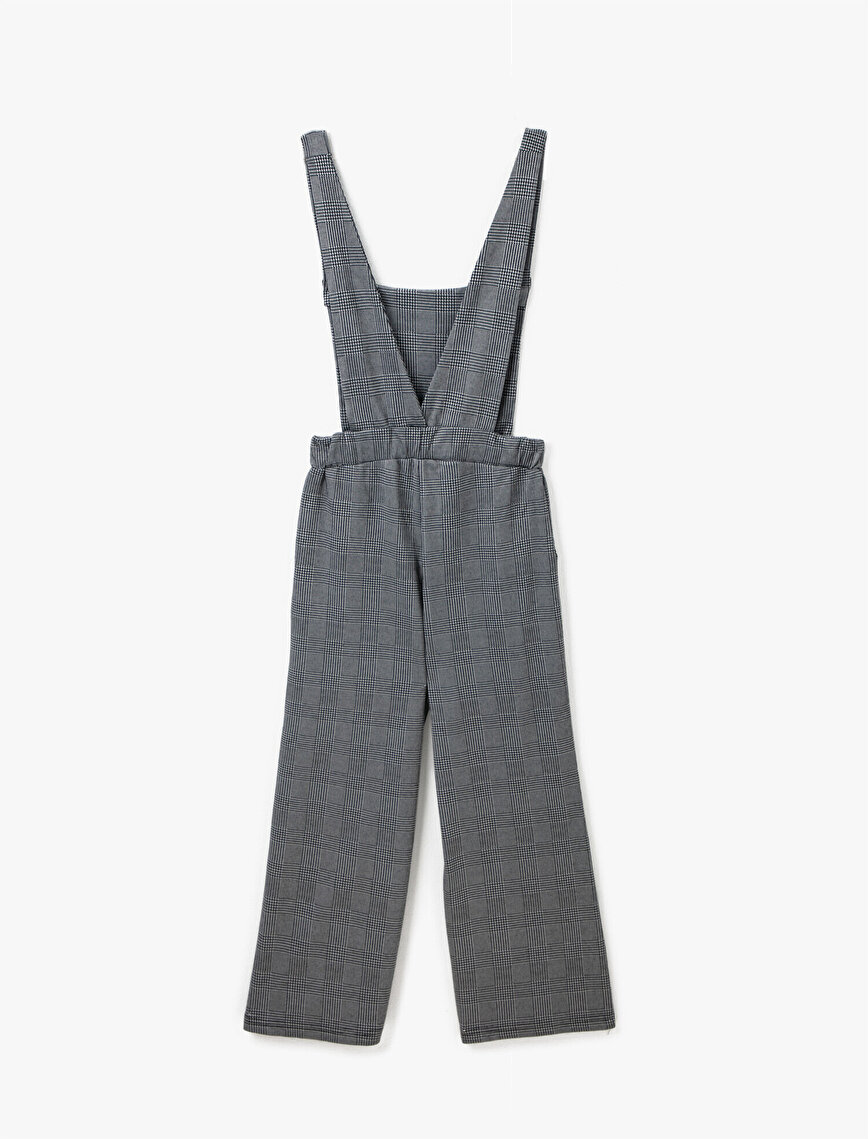 Checked Jumpsuit