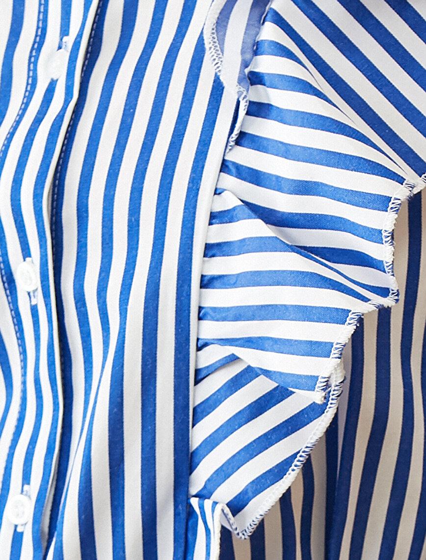 Düğme Detaylı Elbise
