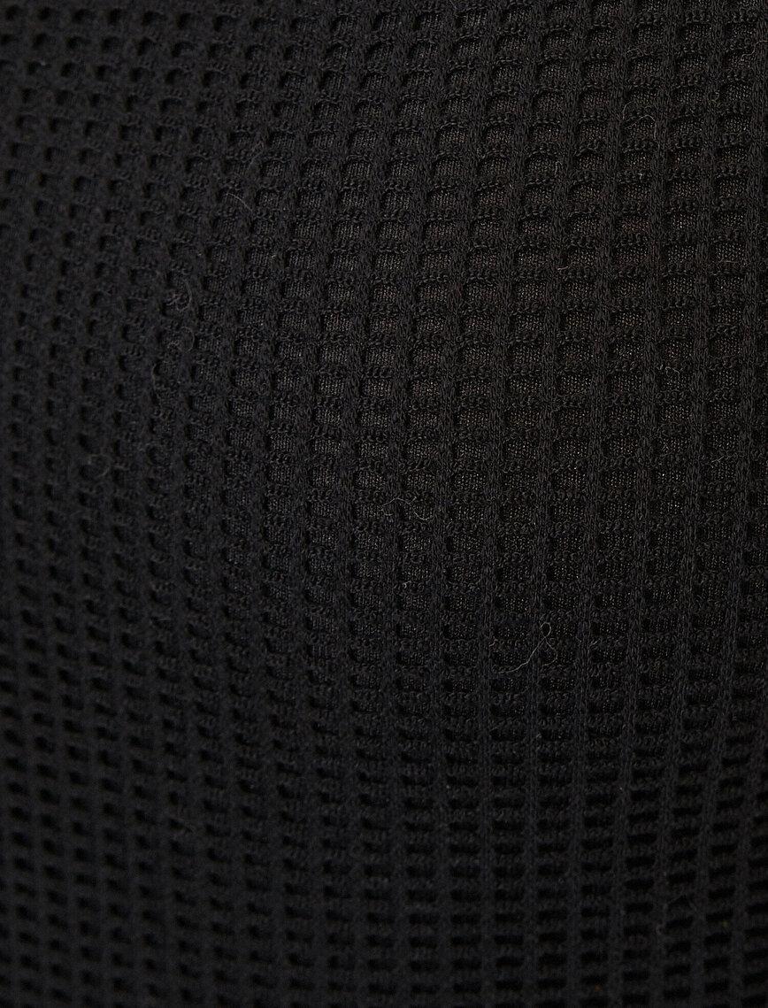 Mesh Detailed Dress