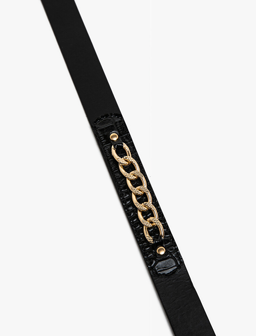 Chain Detailed Belt