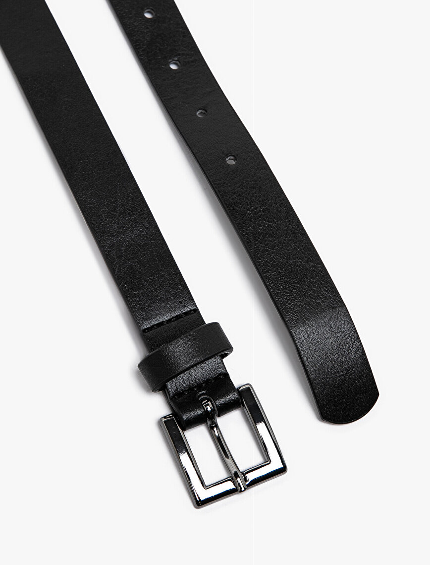 Leather Look Belt