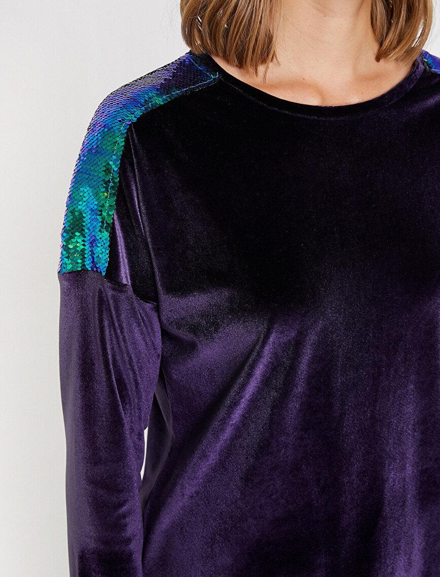 Payetli T-Shirt