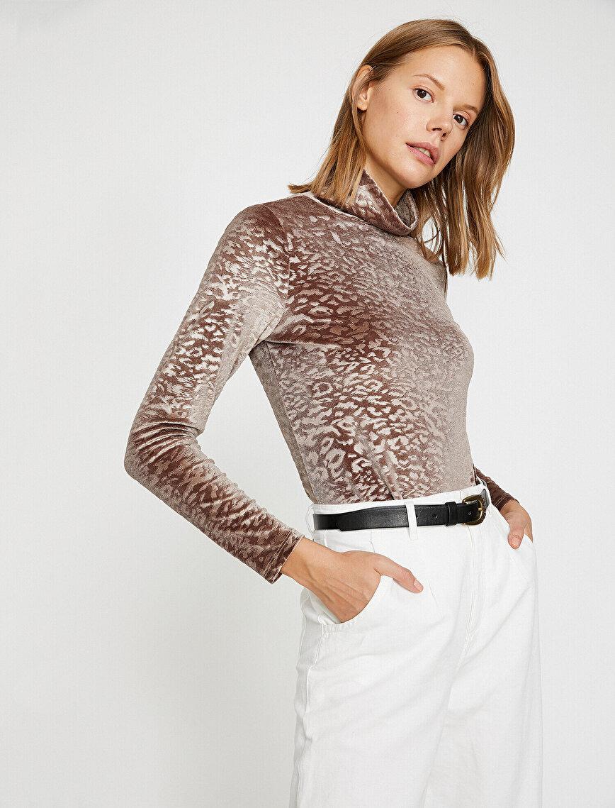 Leopard Patterned T-Shirt