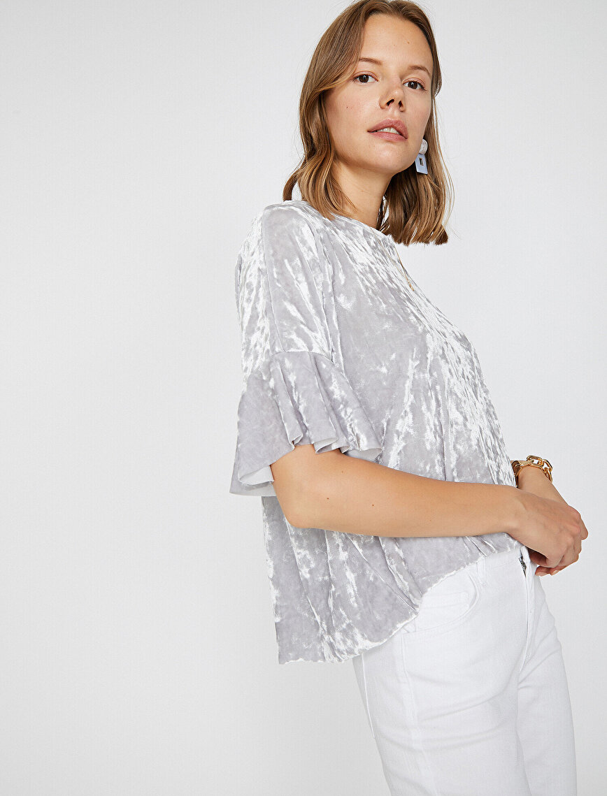 Frilled T-Shirt