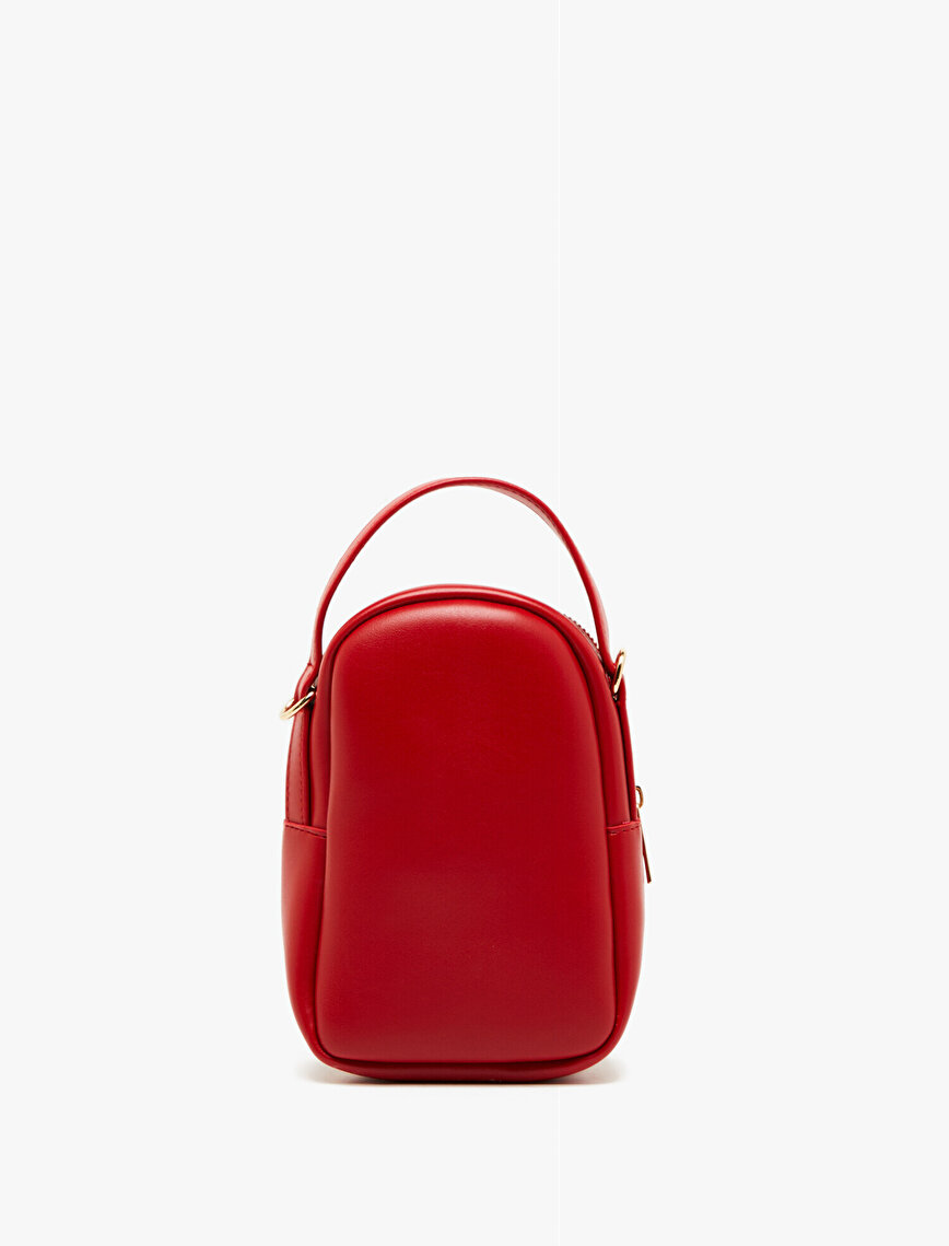Leather Look Hand Bag