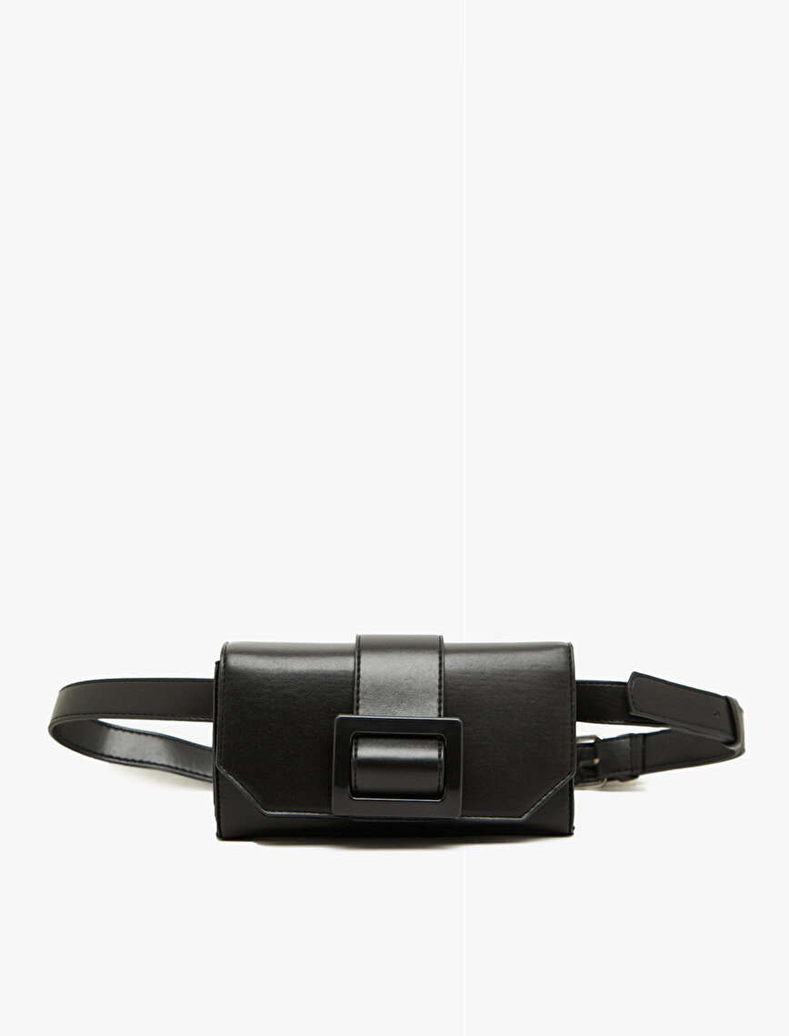 Ring Detailed Belt Bag