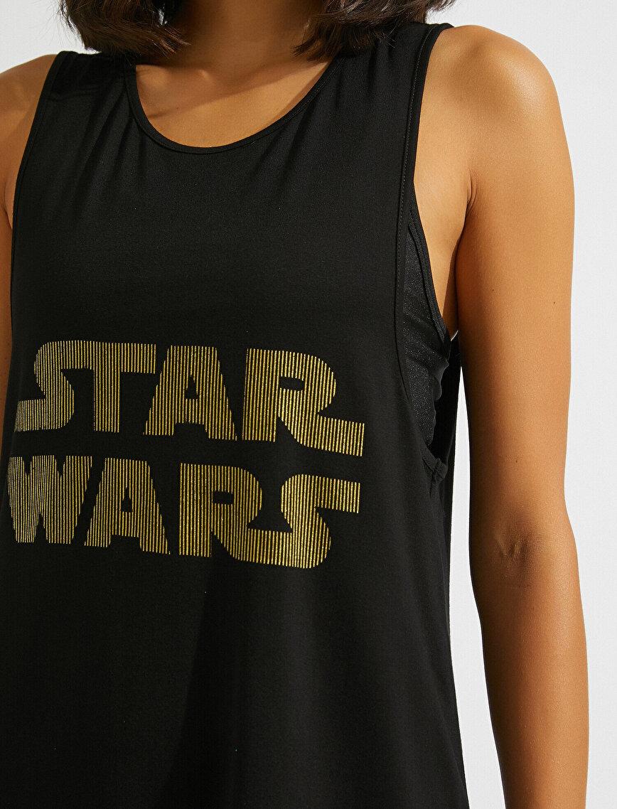 Star Wars Lisanslı Baskılı Atlet
