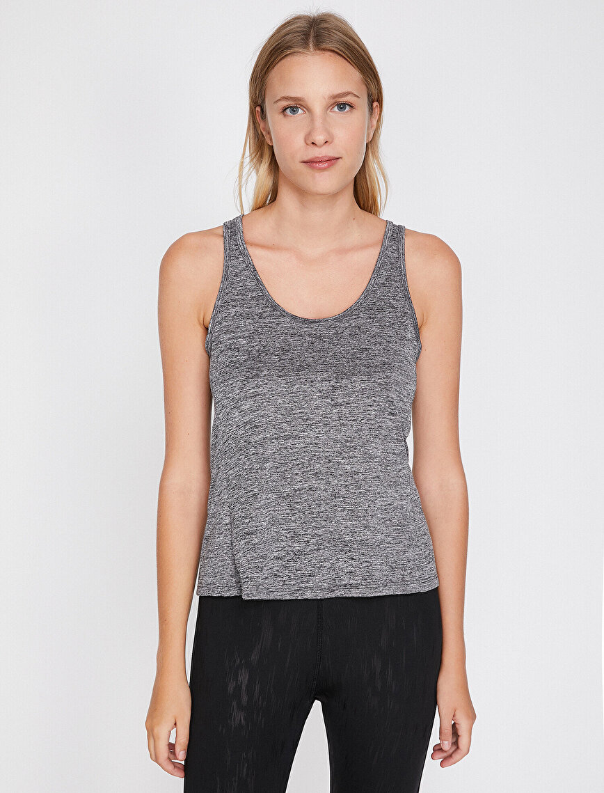 Back Detailed Tank Top