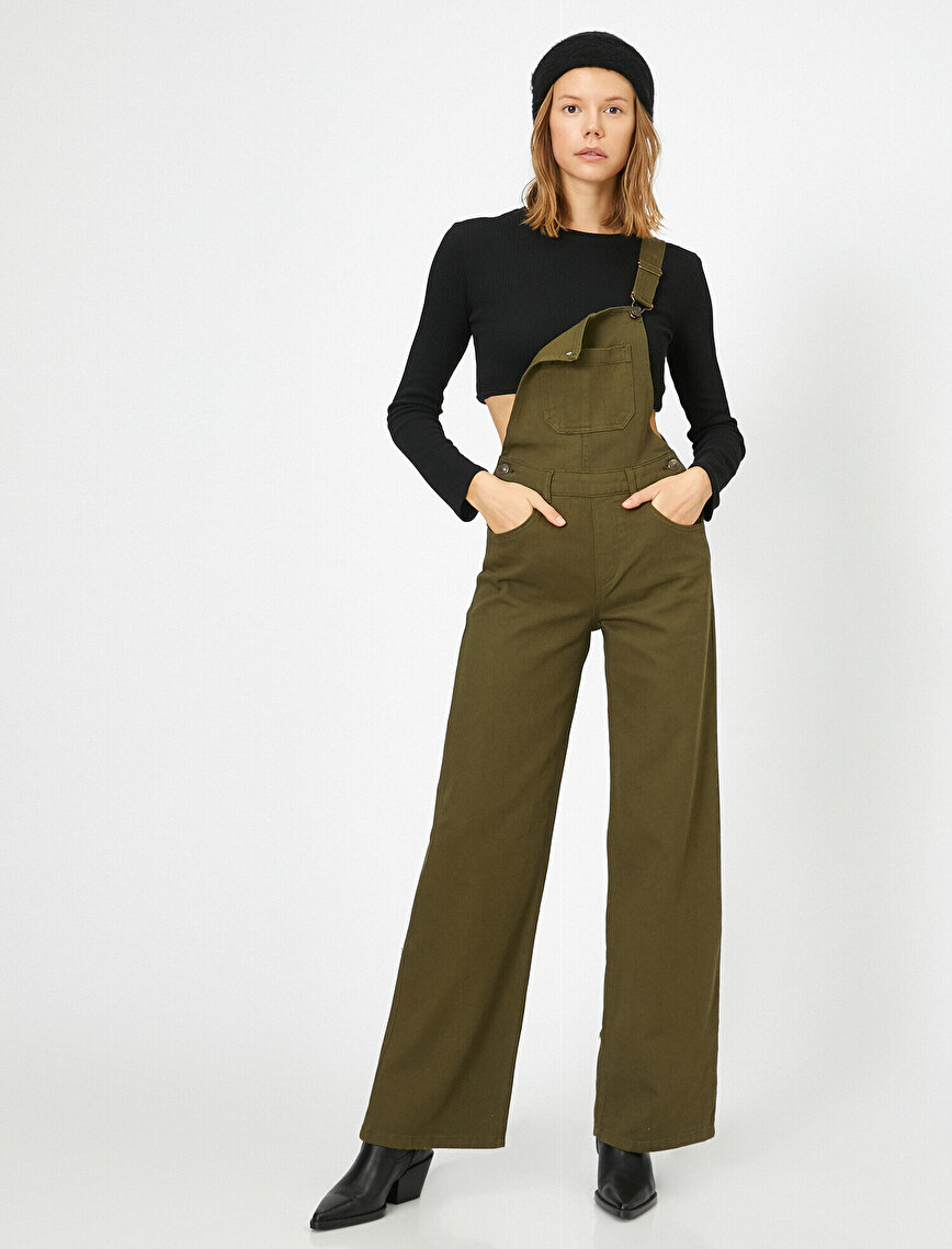 Pocket Detailed Jumpsuits