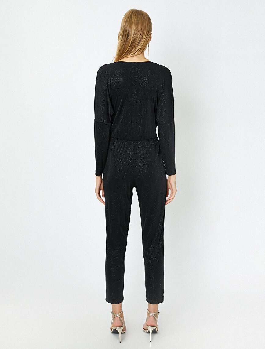 Shimmer Detailed Jumpsuits
