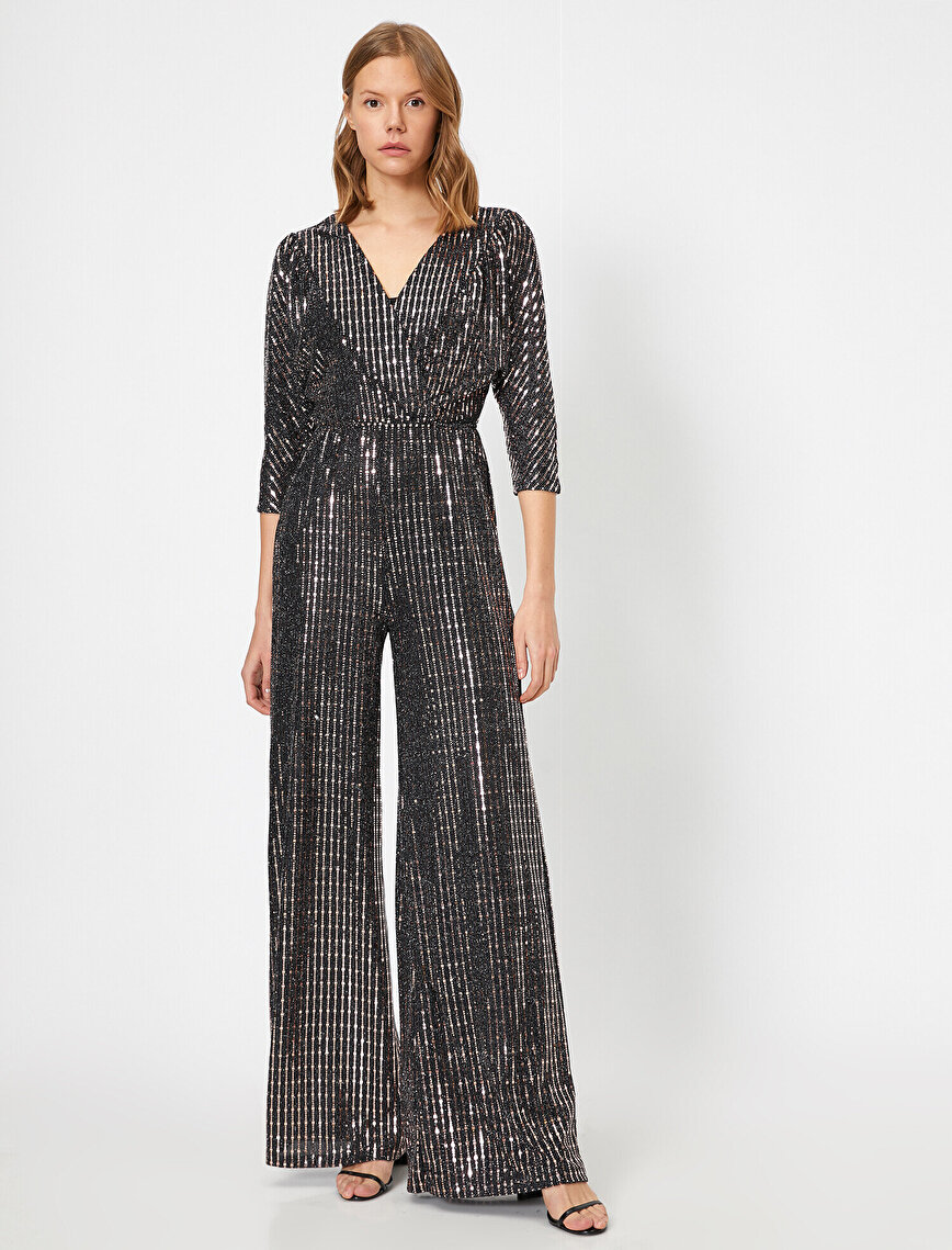 Sequin Detailed Jumpsuits